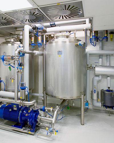 Pharmaceuticals, Dairy Foods & Breweries Industry