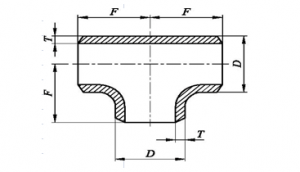 Equal Tee Dimensions
