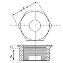 Socketweld Bushing Dimensions